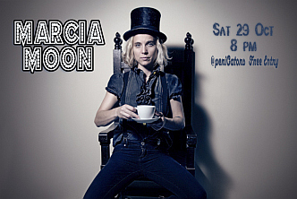 Marcia Moon - Sat 29 Oct 8 pm - Free Entry